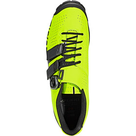 Giro Code Techlace Schoenen Heren, lime/black